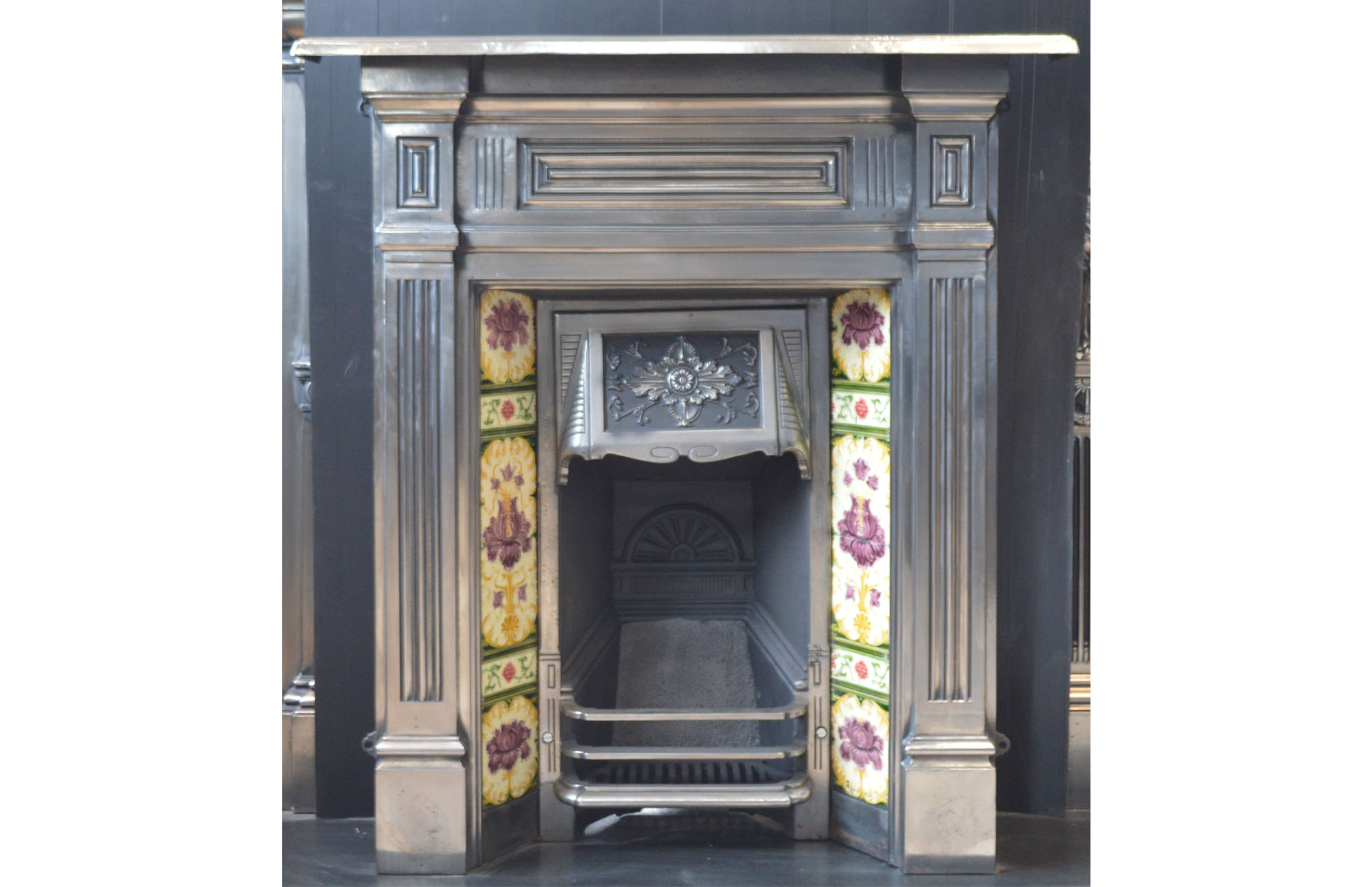 s fixing prevshw fireplace help gallery tiles my two here inch the mantel holes antique in