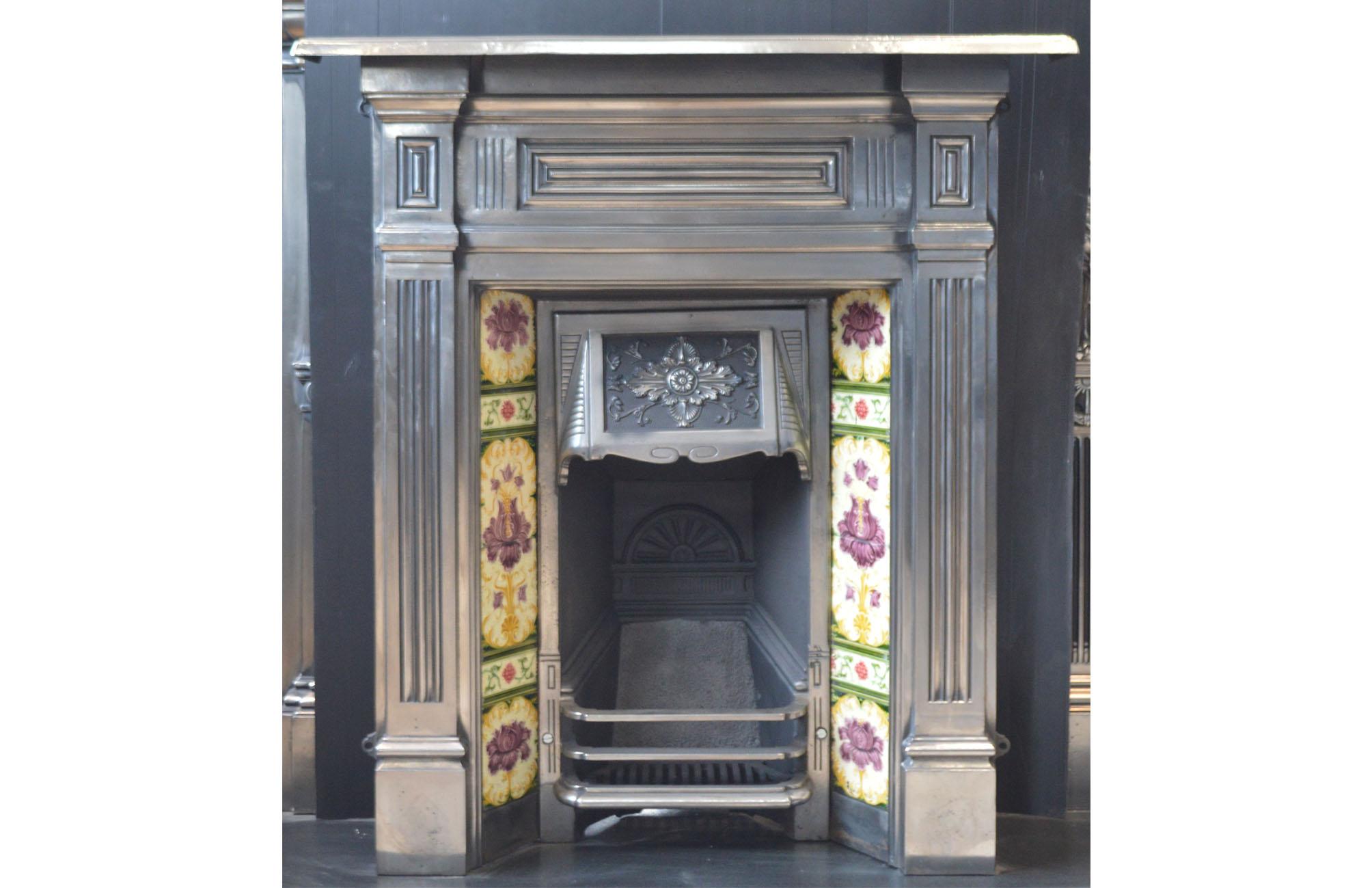 tiles edit tile antique fireplace pasadena fireplaces zabrae wisteria craftsman sm